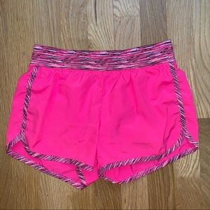Justice pink athletic shorts